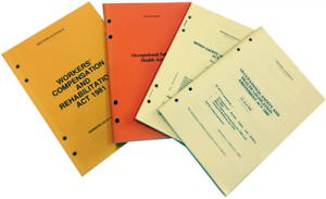 legislation booklets
